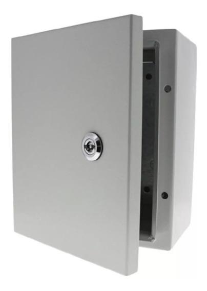 Gabinete Metalico 40x30x20 Cm 400x300x200 Mm Con Platina