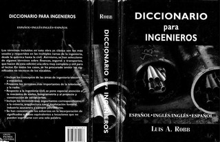 * Diccionario Ingenieria De Robb (ingles-español-ingles)