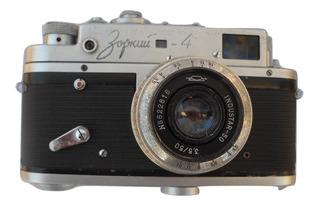 Camara Zorki 4 De 35 Mm Inspirada En Leica Lente Industar
