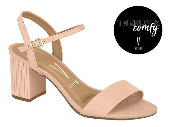 Zapatos · Vizzano · Sandalia Rosa Taco Bajo