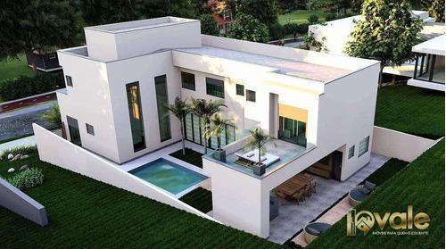 Imagem 1 de 5 de Casa Com 4 Suítes À Venda, Exclusiva - Condomínio Residencial Alphaville Ii - São José Dos Campos/sp - Ca2138