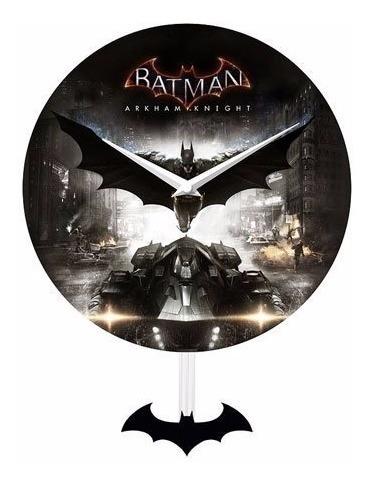 Reloj De Pared Batman Arkham Knight ( 2017 )