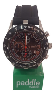 Reloj Hombre Paddle Watch 38107 Metal Y Goma Deportivo