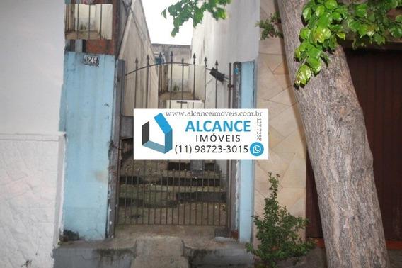 Terreno Com 2 Casas A Venda Na Avenida Lacerda Franco - Cambuci Próximo A Av. Lins De Vasconcelos - Alcance Imóveis - Te00003 - 34156586