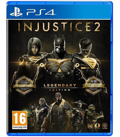 Jogo Injustice 2 Legendary Edition Ps4 Midia Fisica Lacrado