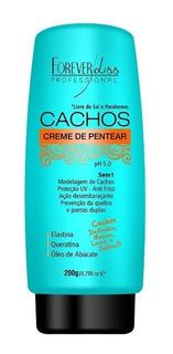 Creme De Pentear 5 Em 1 - Forever Liss Cachos 200gr