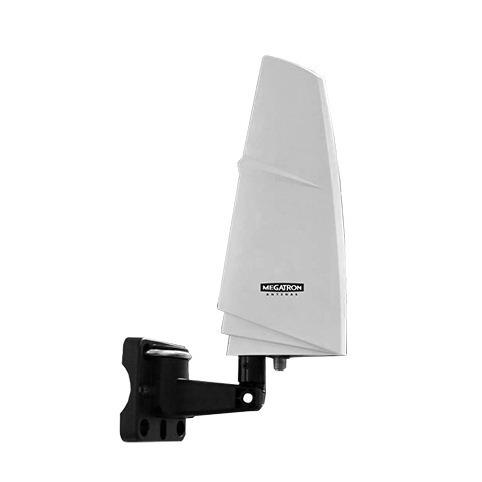 Antena Interna Externa Digital Analogica Mt005 Preto Megatron