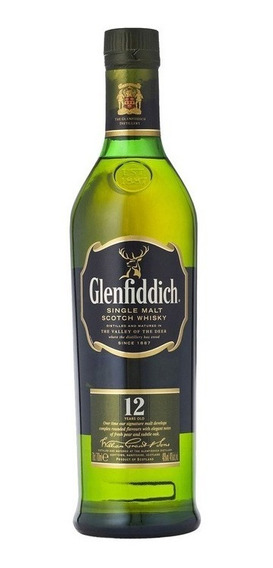 Whisky Glenfiddich 12 Años Escocés Botella 750 Ml