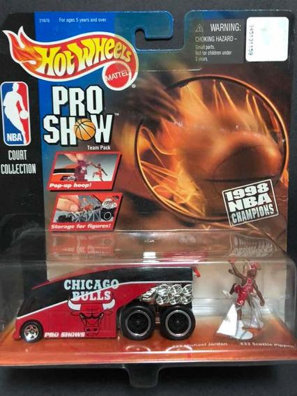 Mini Chicago Bulls - Nba - Michael Jordan - Scottie Pippen