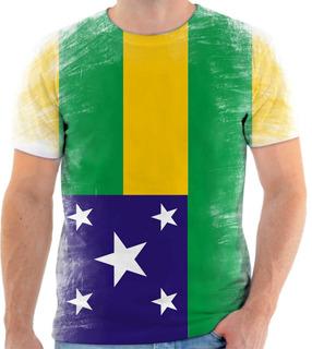 Camiseta, Camisa Bandeira Do Estado De Sergipe