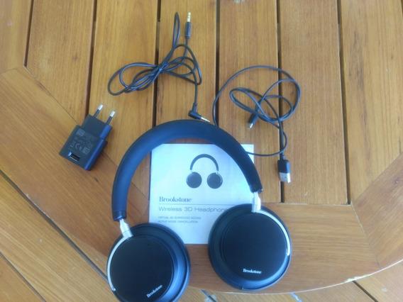 Wireless 3d Headphones Active Noise Cancellation Brookstone