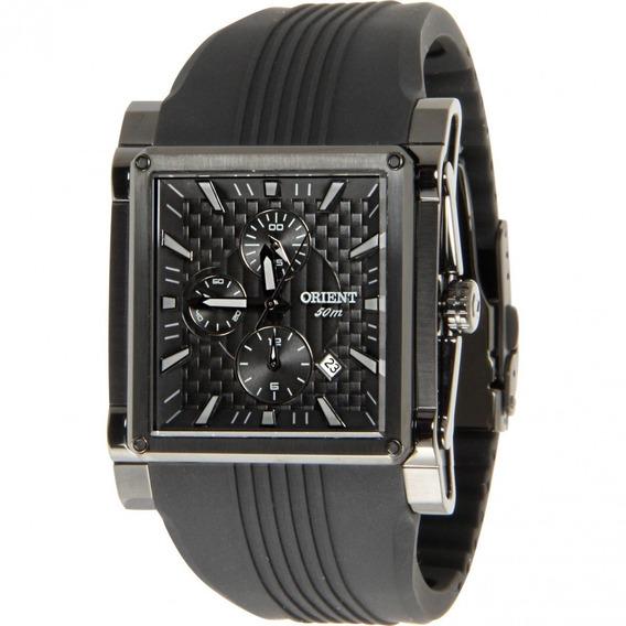 Relógio Orient Gpspc007 Masculino Luxuoso Mostrador Preto