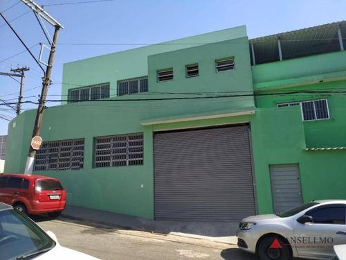 Salão Para Alugar, 110 M² Por R$ 4.000,00/mês - Planalto - São Bernardo Do Campo/sp - Sl0402