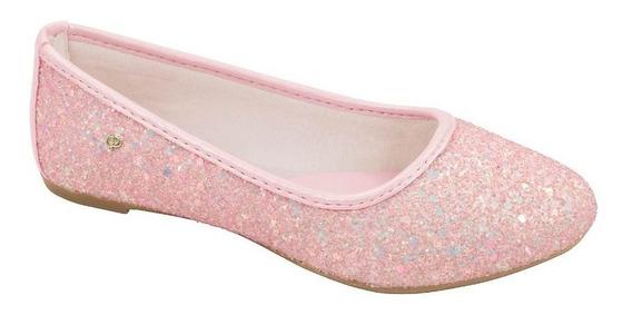 Sapatilha Pampili Super Fofura Glitter Rosa