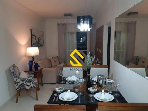 Apartamento Com 2 Dormitórios Para Alugar, 60 M² Por R$ 2.100/mês - Condomínio Ateliê Campolim - Sorocaba/sp - Ap0966