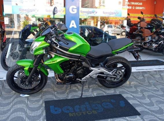 Kawasaki Er6n 2013 Verde Impecável