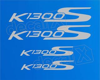 Ki Emblema Adesivo Rabeta Bmw K1300s Azul Par Bwk1300s09