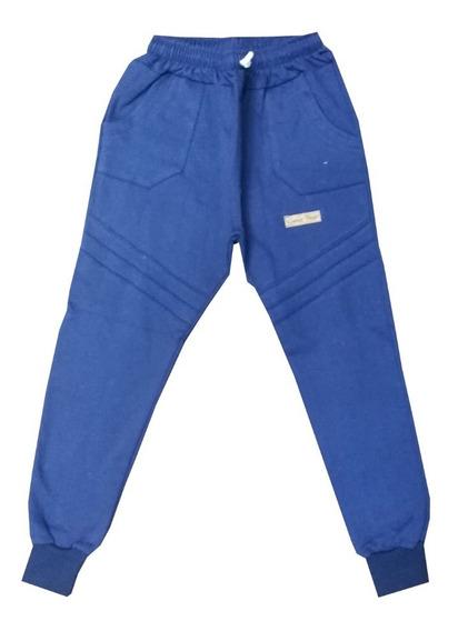 Pantalon Jogging Chupin Babucha Chicos Niños Frizado Cuotas