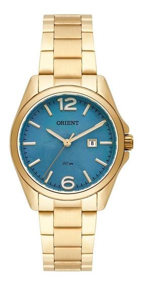 Relógio Orient Feminino Dourado Fgss1143 G2kx
