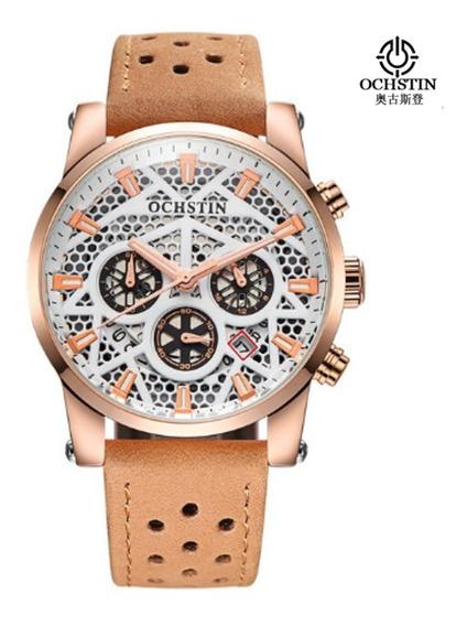 Relógio Ochstin Importado, Original Na Caixa Modelo Luxo