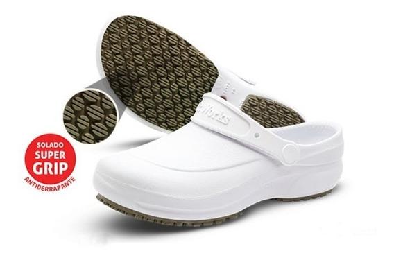 Calçado Antiderrapante Softworks Bb60 Branco