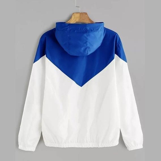 Blusa Jaqueta Corta Vento Com Capuz Windbreaker Trust Colors