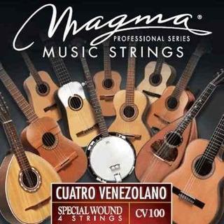 Set De Cuerdas Para Cuatro Venezolano Magma