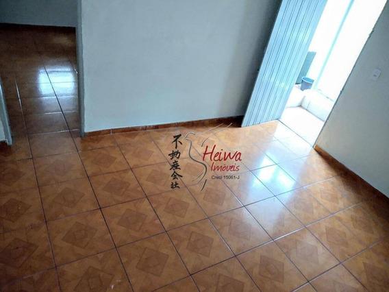 Casa Com 1 Dormitório Para Alugar, 40 M² Por R$ 800/mês - Vila Guedes - São Paulo/sp - Ca1049