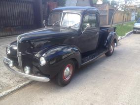 Ford 1940 Pick Up Excelente Estado (unica Oportunidad)
