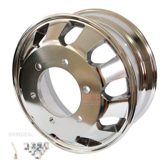 Roda De Aluminio Ford Cargo 1119 E Volks 10.160 Aro 17,5