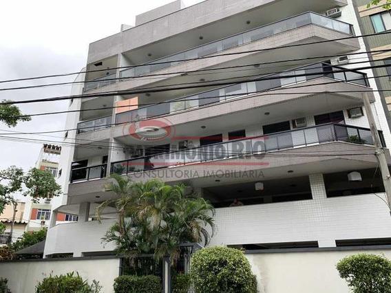Espetacular Cobertura Duplex 200m² 3quartos 1suite 3vagas - Paco30068