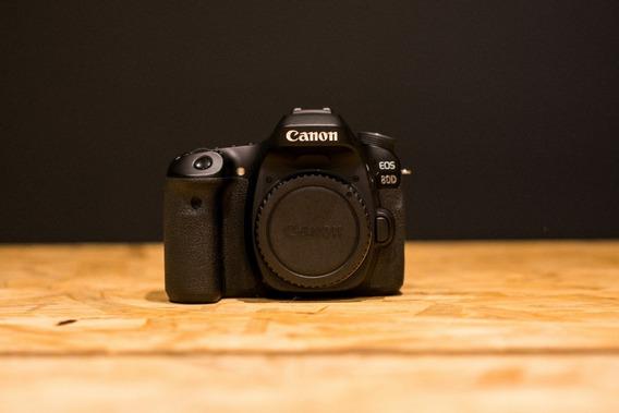 Canon 80d + Lente 18-55mm