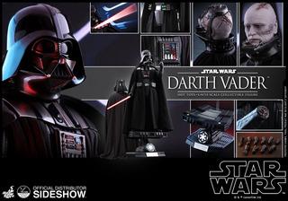 Darth Vader Star Wars Escala 1:4 Hot Toys