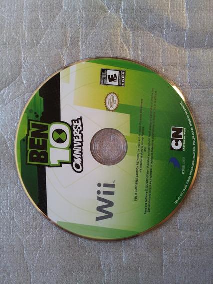 Ben 10 Omniverse Nintendo Wii Jogo Original Só A Midia