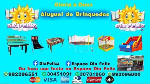 Imagem 1 de 1 de Dia Feliz Aluguel De Brinquedos Para Festas