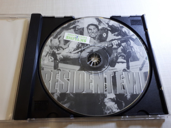 Resident Evil Patch Prateado Prensado Playstation One Ps1