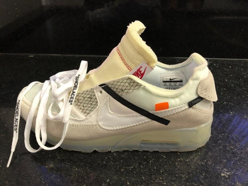 Tênis Masculino Nike Air Max 90 Off White 40 Sem Juros