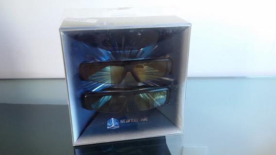 Par De Óculos 3d Samsung Starter Kit Original Ativo Sem Uso.