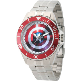 Reloj Marvel Para Hombre Wma000008 Tablero De Avengers 75th