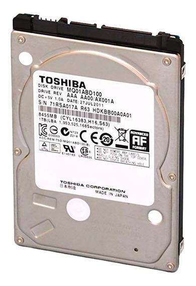 Disco Duro Toshiba 1tb Para Laptop 2.5 5400rpm Sata 6gb/s