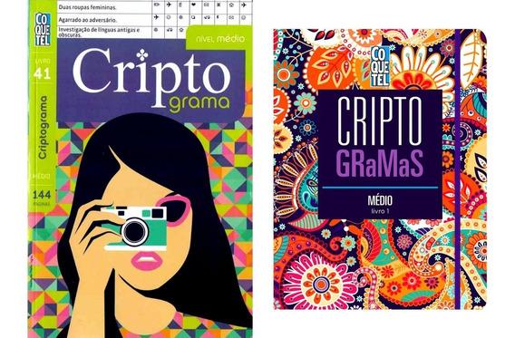 Criptograma Livro 41 + Criptogramas Médio Capa Dura