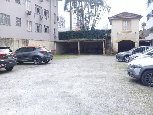 Terreno Para Alugar, 748 M² Por R$ 15.000,00/mês - Boqueirão - Santos/sp - Te0143