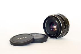 Lente Meike 35mm F/1.7 Para Fuji X-mount Foco Manual