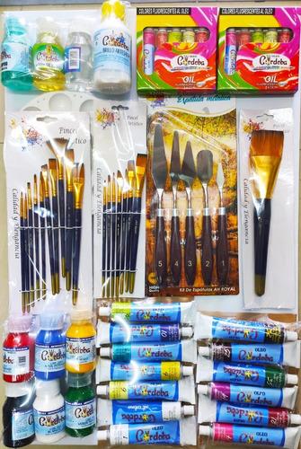 Kit De Pintura Especial Oleo Cordoba Navidad