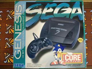 Sega Genesis 3 Original + 10 Juegos (no Enciende)