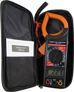 Pinza Amperometrica Profesional Con Estuche Noga Dt-266