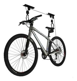 Soporte Porta Bici Gancho Elevador 30kg P/ Colgar Techo
