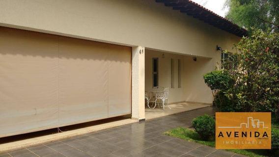 Casa Residencial À Venda, Jardim De Itapoan, Paulínia. - Ca0828