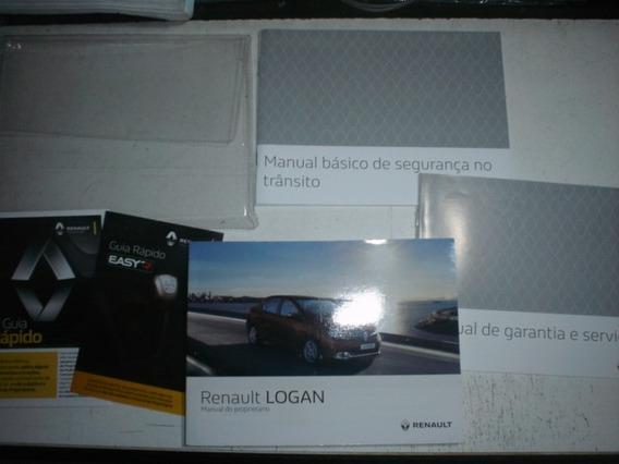 Manual Renault Logan 2017 2018 Original Proprietário Sedan