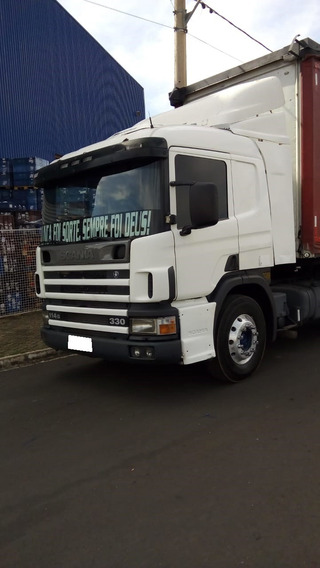 Scania P 330 4x2 Ano 2004/04 Completo